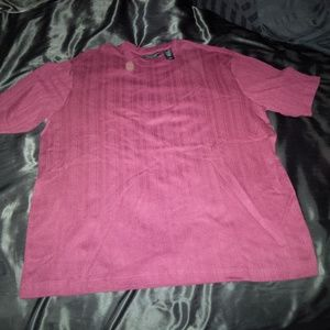 Men's Crazy Horse pullover shirt in Maroon XL